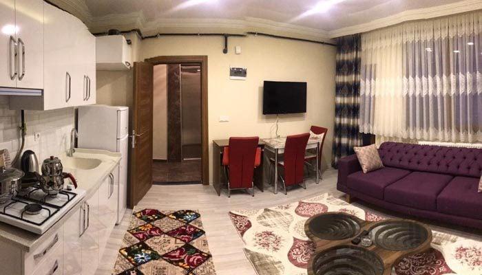 شقة صغيرة للإيجار في طرابزون